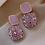 "Thumbnail: ""Lilac Shinin'"" Small Drop Earrings"