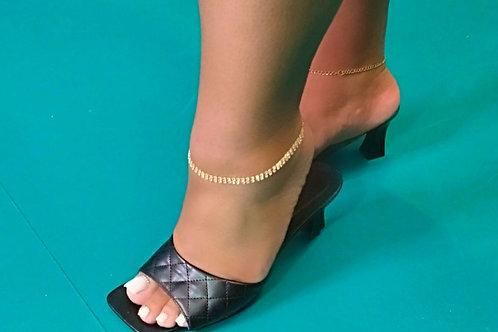 """Bandz"" Stretch Studded Anklet"