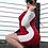 "Thumbnail: Blocked"" Long Sleeve Dress"