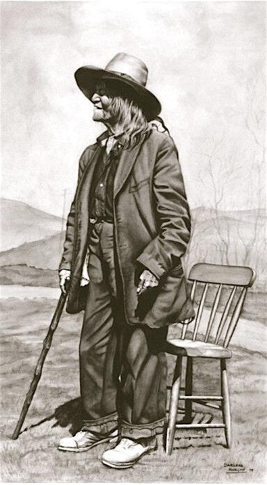 Louie Finley, Framed Original