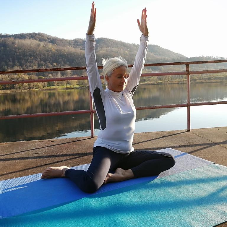 Yoga e Nordic Walking al lago Revine