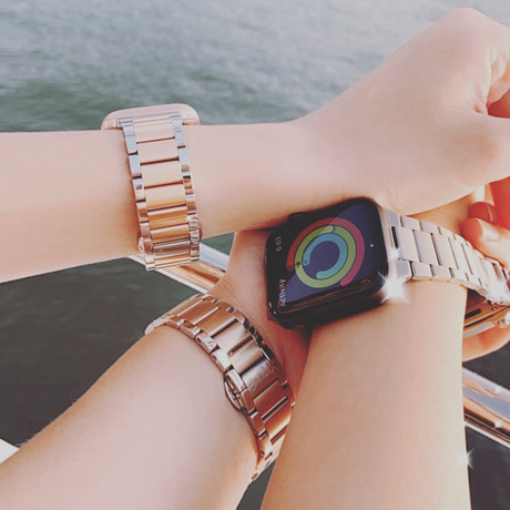 Influencer Collaboration X HARMONY inc. | Stainless & Titanium Band for Apple Watch Accessory