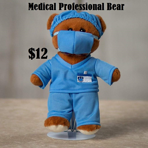Plush Medical Professional Bear
