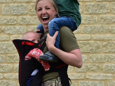 #ActiveArmyMum - British Army Backs Active Mums!