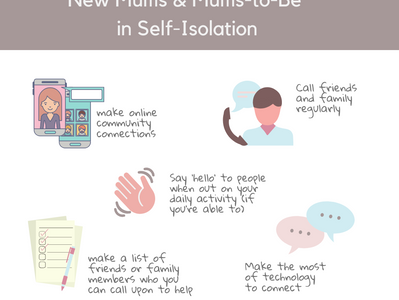 Top Tips for Isolating Mums