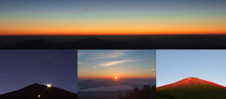 """今までに見たことがない世界がここにはある! 太陽系太さんと行く「富士山5合目""""小富士""""ご来光」"""