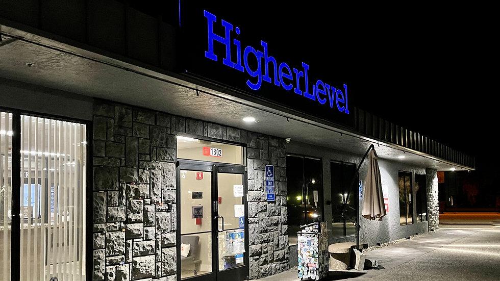 Higher Level - Hollister Storefront