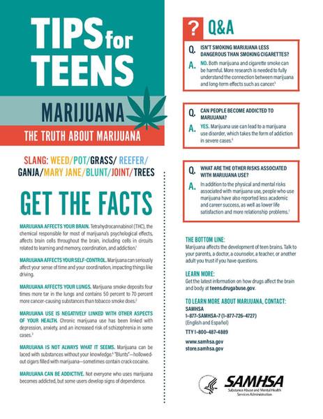 MJ tips for teens SAMHSA pep19-05-page-0