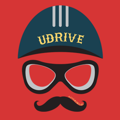 UDrive Logo Sticker