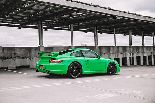 copy of copy of PTS RS Green Carrera S Print