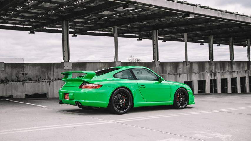 2008 Porsche 911 997 Carrera S - RS Green
