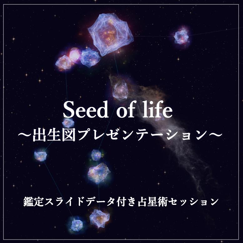 オンライン出生図プレゼンテーション「Seed of life」