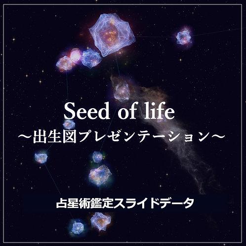 <鑑定スライドデータ>Seed of life~出生図プレゼンテーション