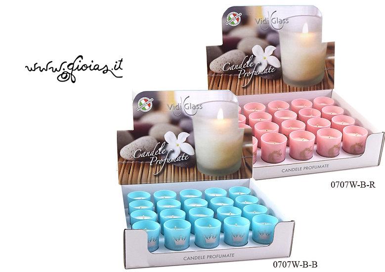 candele profumate nascita battesimo 1 compleanno