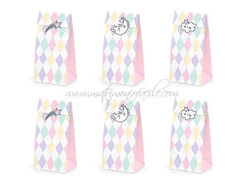 Busta/ Portaconfetti  unicorno