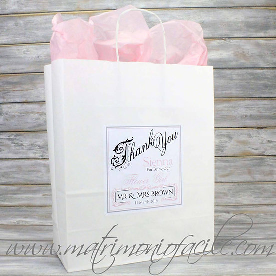 Wedding Bag - Buste carta personalizzate