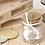 Thumbnail: Vasetti vetro Prima Comunione con decoro