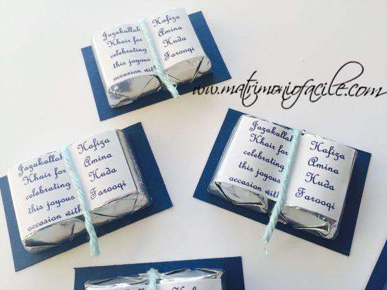 Copia di Cioccolattini libri personalizzati