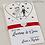 Thumbnail: LACRIME DI GIOIA - Portafazzoletto + fazzolett.sposi + raso