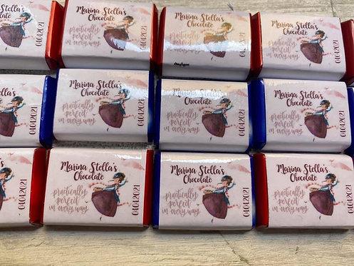 Cioccolattini personalizzati