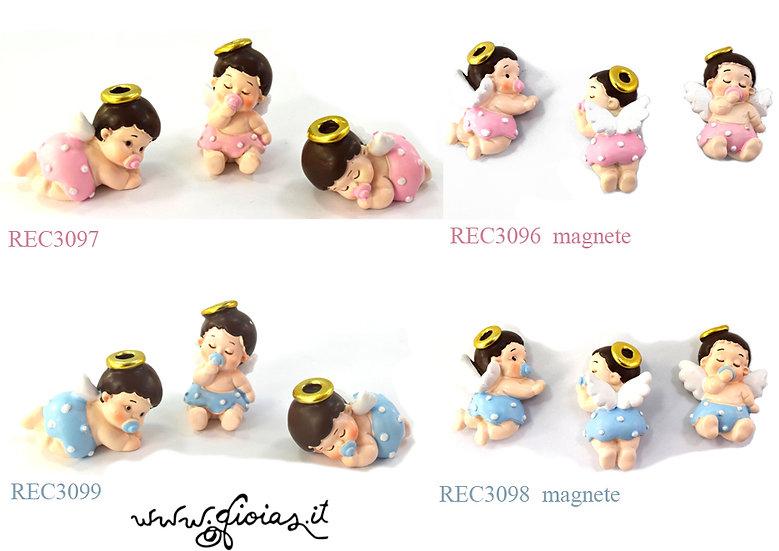 Bomboniera BABY ANGELI in resina