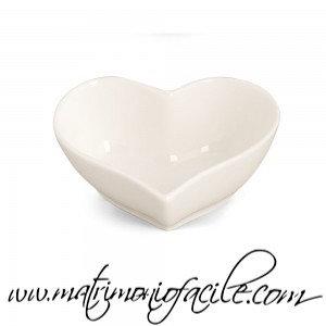 Ciotolina cuore di ceramica