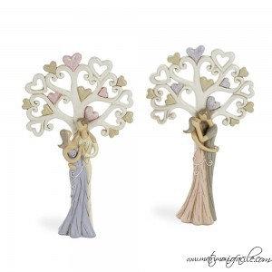 Coppia sposi con albero della vita