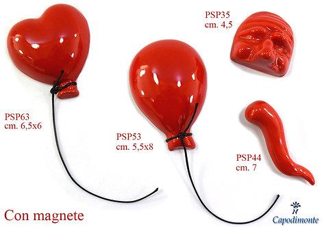 Bomboniera Magnete Portafortuna palloncino corno