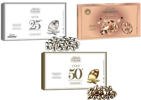 Confetti MAXTRIS LUXURY - oro/argento/oro rosato