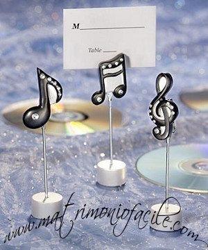 Segnaposto Note musicali