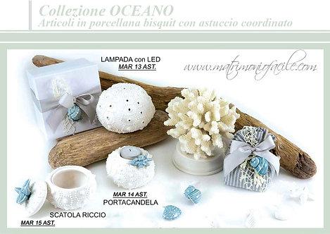 Bomboniera COLLEZIONE OCEANO con confezione inclusa mare bomboniera matrimonio