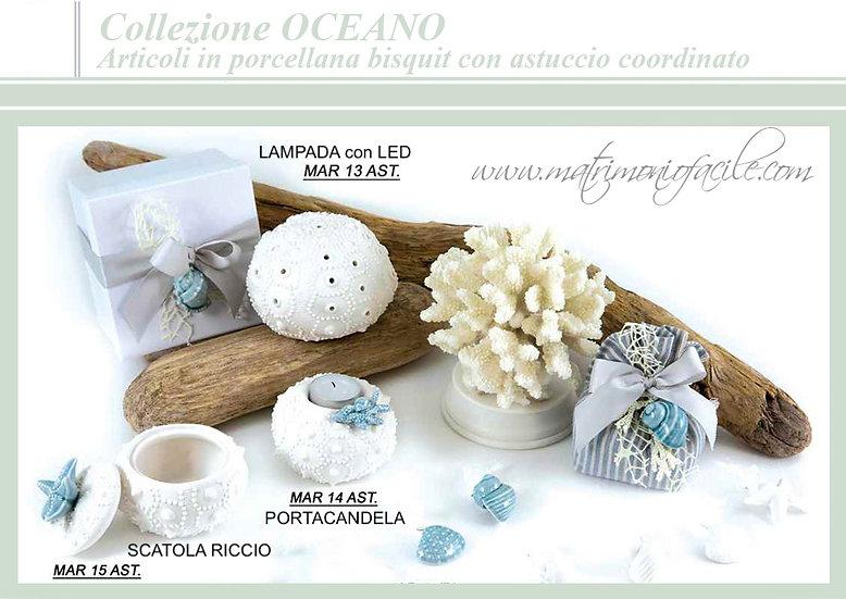 Bomboniera COLLEZIONE OCEANO con confezione inclusa