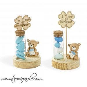 Bomboniera Portaconfetti Lettera d'Amore azzurro