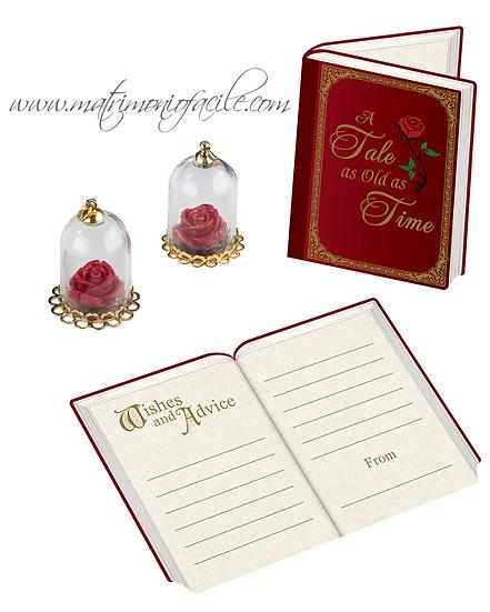 PICCOLO PRINCIPE carte augurio + rose