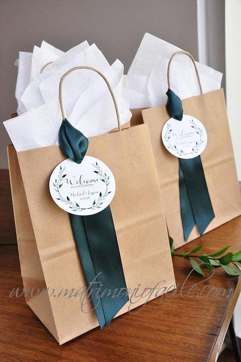 Wedding Bag - Buste carta personalizzate matrimonio