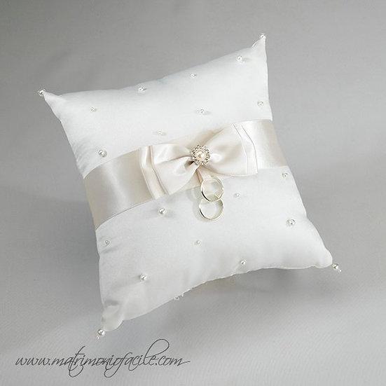 Cuscino portafedi perle