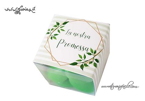 Portaconfetti  Box personalizzato