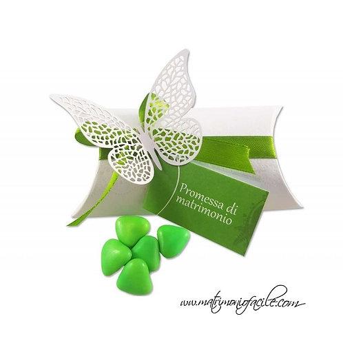 Scatolina portaconfetti - Farfalla promessa