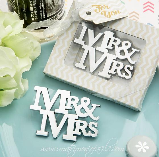 APRIBOTTIGLIA Mr&Mrs con confezione inclusa