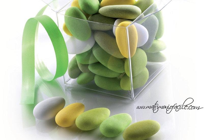 Confetti SFUMATI tono verde