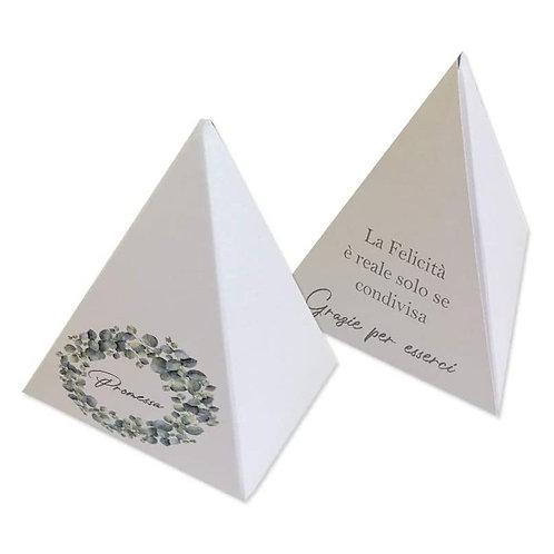 Scatolina portaconfetti - Piramide Promessa