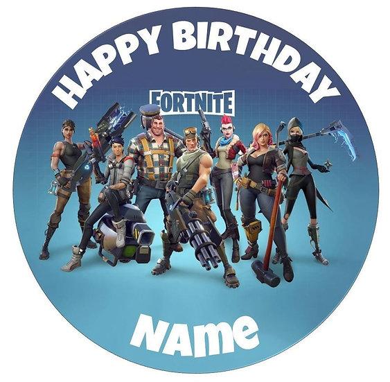 Etichette o Sticker personalizzati compleanno