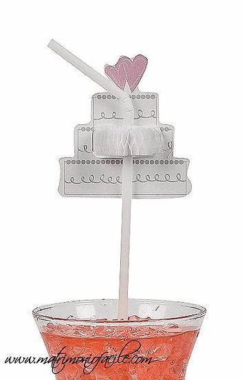 Cannucce bibite - Torta