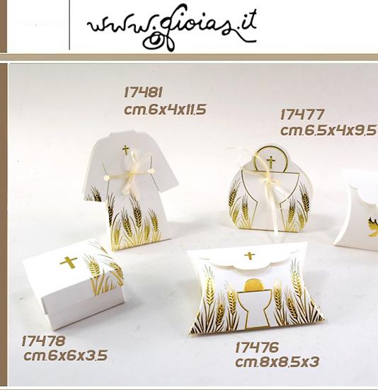 Portaconfetti Comunione in Gold