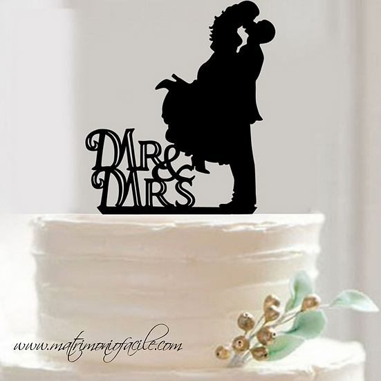CAKE TOPPER  'OMBRE'