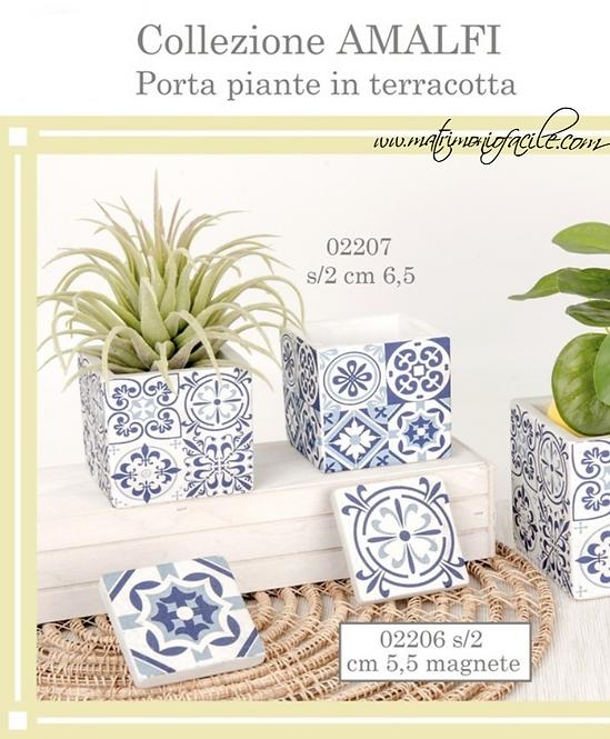 Collezione Amalfi: Portapiante - Magnete terracotta bomboniera