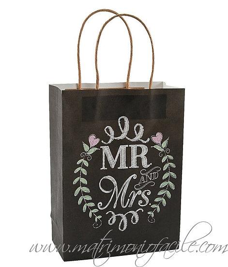 WEDDING BAG - 'LAVAGNA MR&MRS'