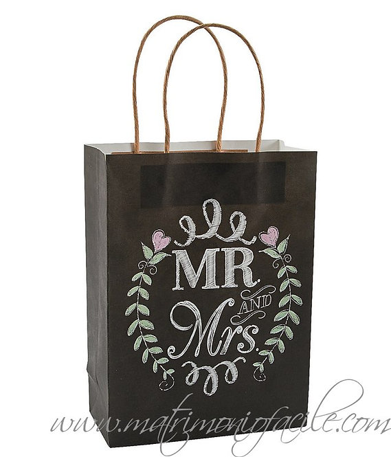 WEDDING BAG - 'LAVAGNA MR&MRS'