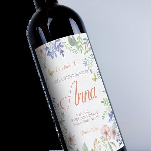 Etichetta vino personalizzata idea regalo
