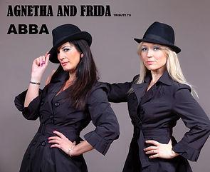 AGNETHA AND FRIDA Abba hats  NAMED NEW(1